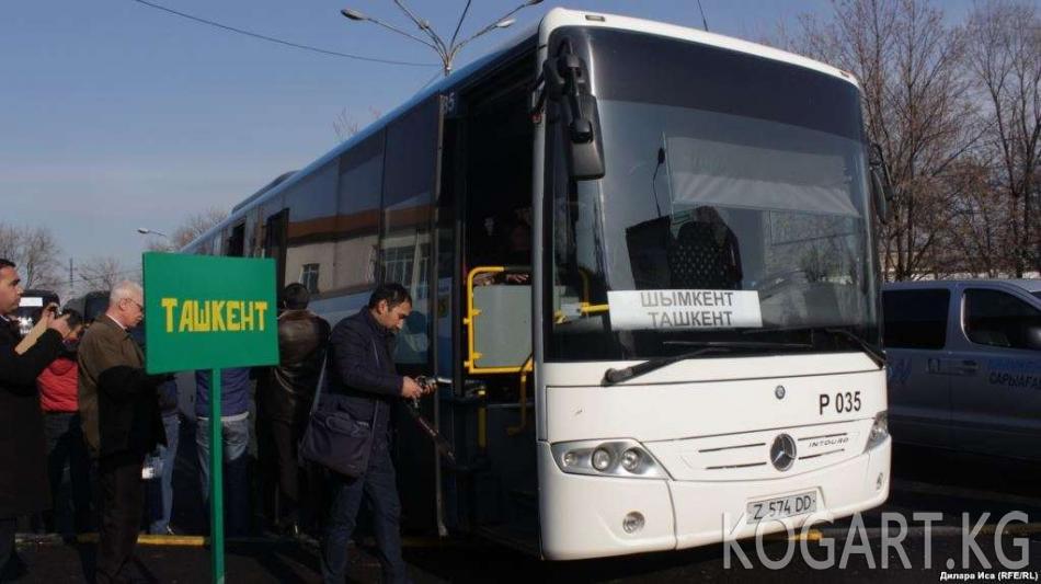 Алматы — Ташкент унаа жолунда автобус аткыланды