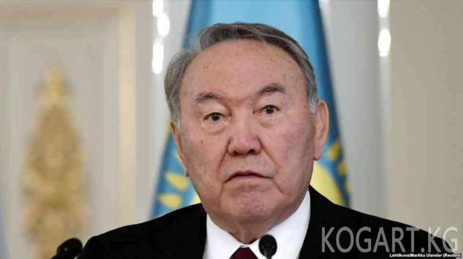Назарбаев Азияда Жамааттык коопсуздук уюмун түзүүнү сунуштады