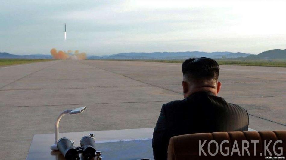 Түндүк Корея жаңы куралын сынаганын маалымдады