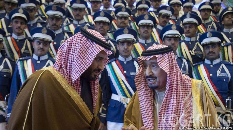 Саудия ханзаадасы журналисттин өлүмүнө байланыштуу тактан куру-жалак...