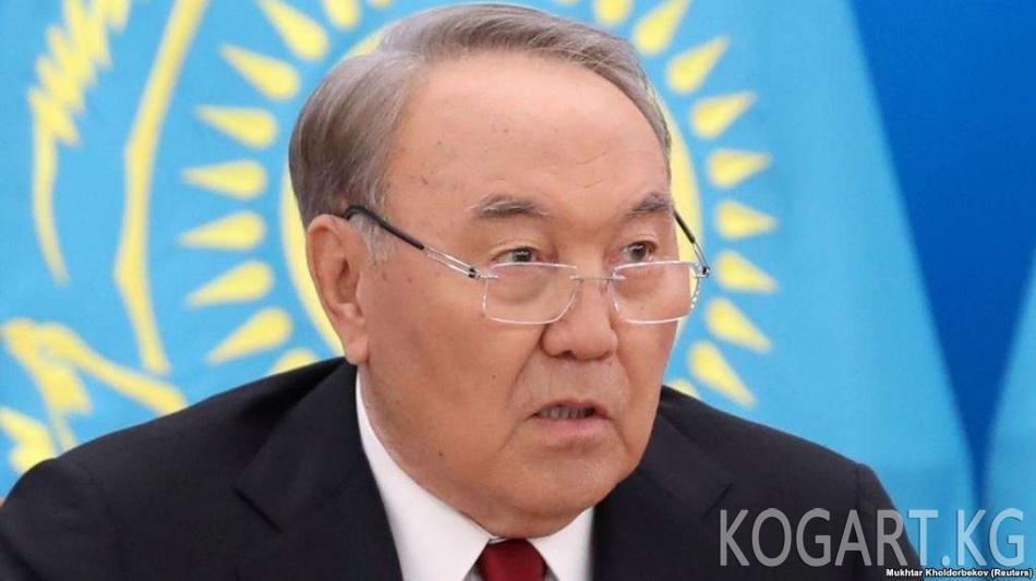 Назарбаев: «Глобалдык тарыхтагы ролубузду түшүнүшүбүз керек»