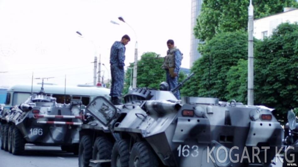 Өзбекстан аскердик даярдыгын текшерерин Кыргызстанга кабарлады