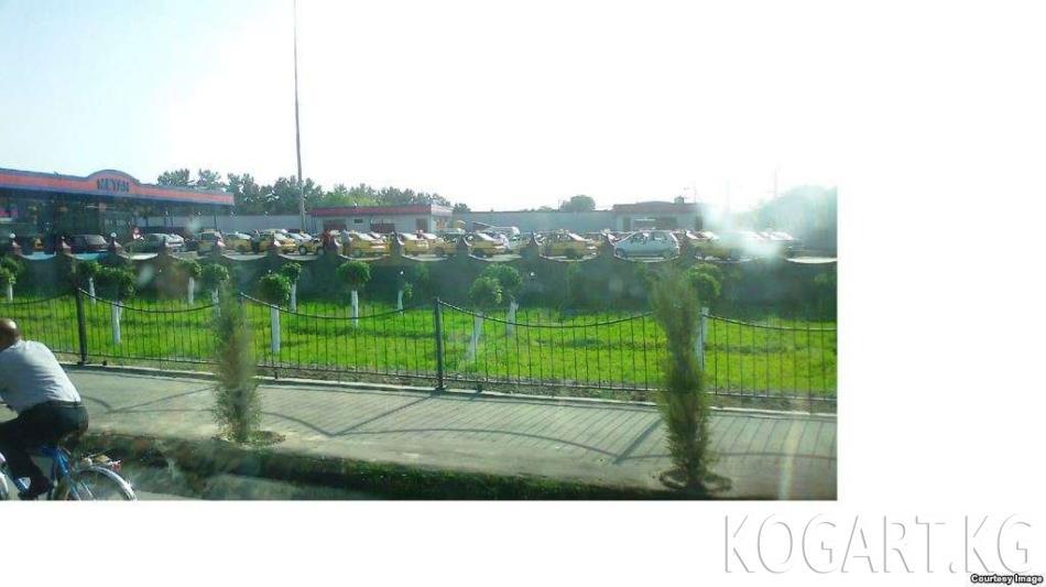 Өзбекстанда газ куюучу станцияда өрт чыгып, үч автоунаа күйүп кетти