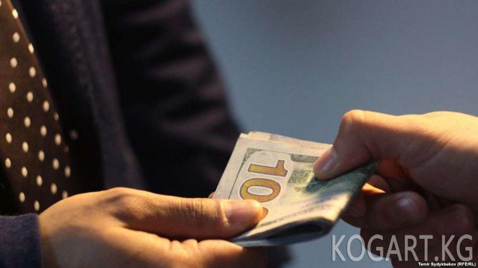Транспорт министринин орун басары 50 миң доллар пара менен кармалды