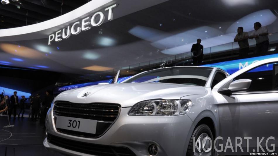 Өзбекстанда Peugeot Citroen заводунун курулушу токтоп калды