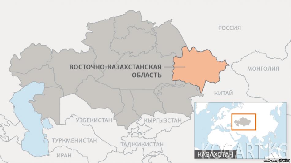 Казакстанда Зыряновск шаарынын аталышы Алтай деп өзгөртүлдү