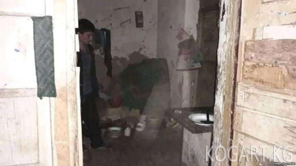 Өзбекстанда авариялык абалдагы үйдүн тургундары мурдагы мечиттин...