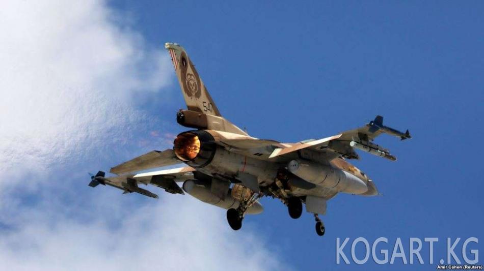 Израиль Сириядагы Иран объектилерине сокку урганын билдирди