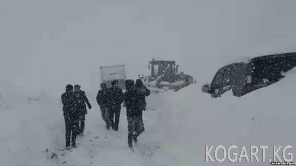 Тажикстанда Душанбе-Чанак унаа жолу жабылды