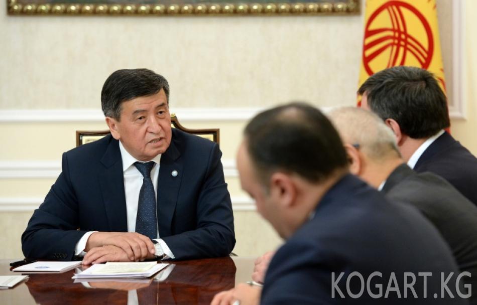 Президент Сооронбай Жээнбеков Түркиянын Улуу улуттук жыйынын...