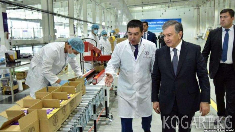 Ташкенттеги шоколад фабрикасынын жумушчулары өлкө тарыхы боюнча...