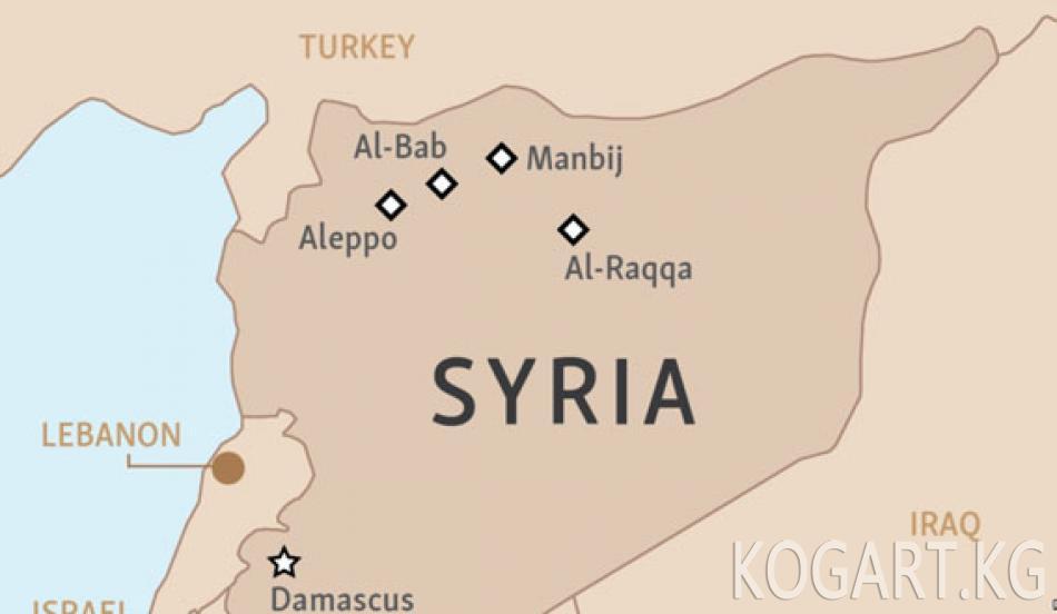 Сирияда ондогон жай тургун авиасоккунун курмандыгы болду