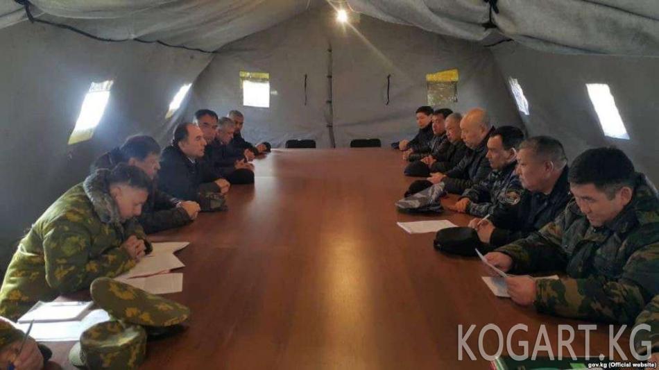 Кыргыз-тажик чек арасындагы абал боюнча кезектеги сүйлөшүү аяктады