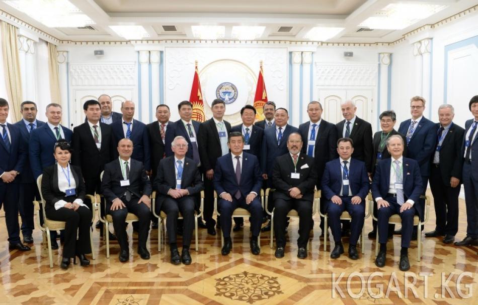 Сооронбай Жээнбеков Кыргызстандын чет өлкөлөрдөгү Ардактуу...