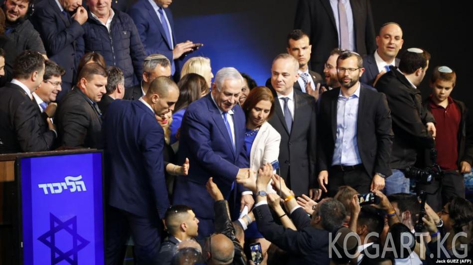 Израилдеги парламенттик шайлоодо Нетаньяхунун партиясы алдыда...