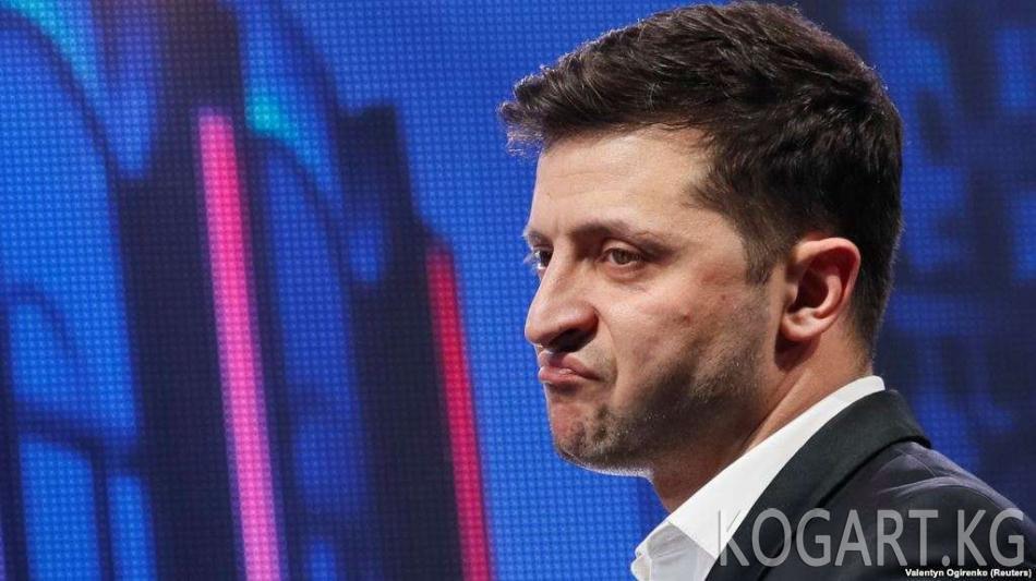 Украинада Зеленскийди автоунаа сүзүп кеткен видео боюнча кылмыш иши...
