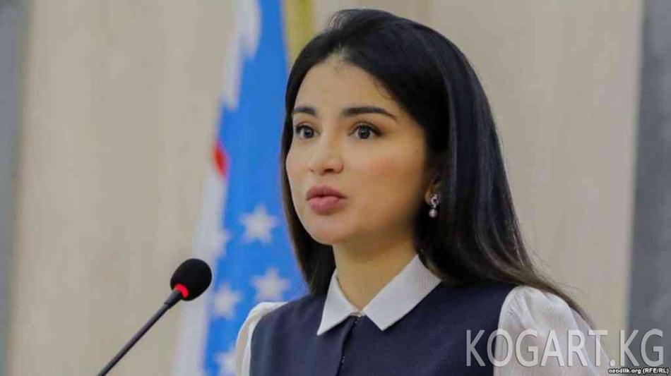 Мирзиёевдин кызы Өзбекстандын чет өлкөдөгү имиджин көтөрөт