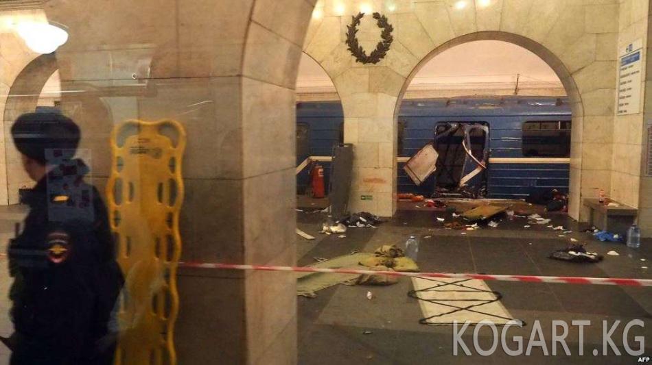 Питер метросундагы теракт иши боюнча кыргызстандык жаранга издөө...