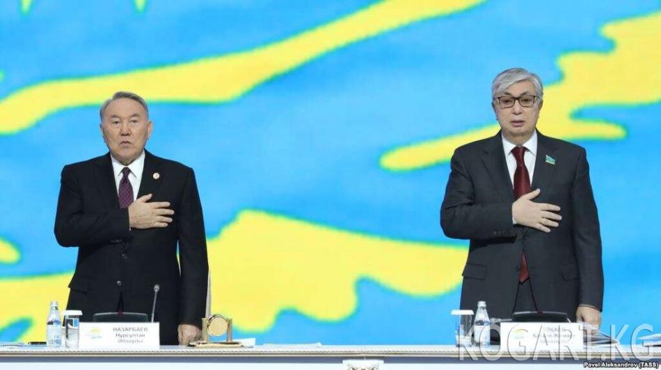 Назарбаев президенттикке Токаевдин талапкерлигин көрсөттү