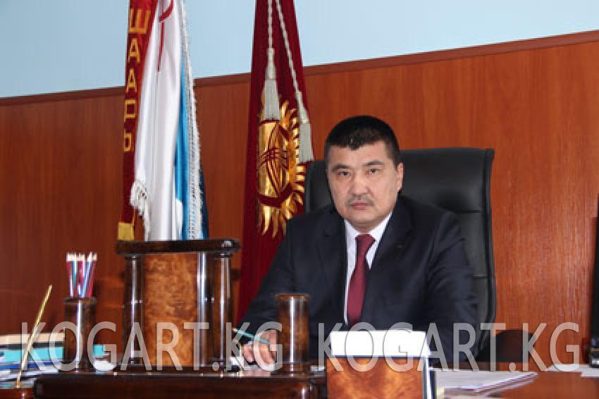 Ош шаарынын мэри А.Кадырбаевдин 5-май-Конституция күнүнө карата...