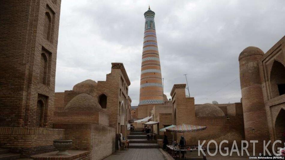 Хива шаарынын тарыхый бөлүгүнө кирүү үчүн акы алына баштады