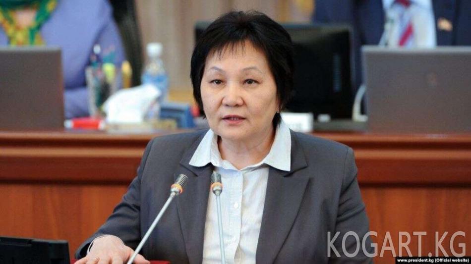 Динара Сагынбаева камакка алынды