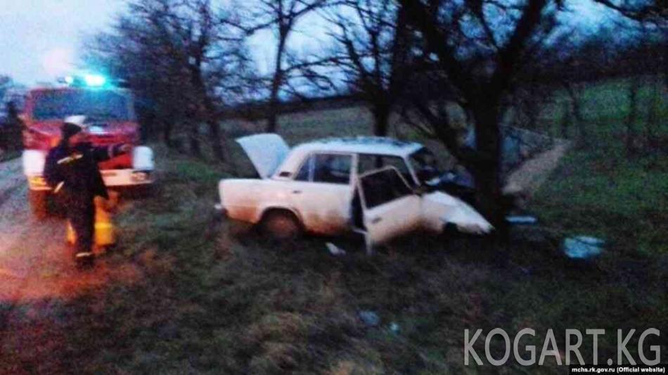 Казакстанда төрт өзбекстандык жол кырсыгына кабылды