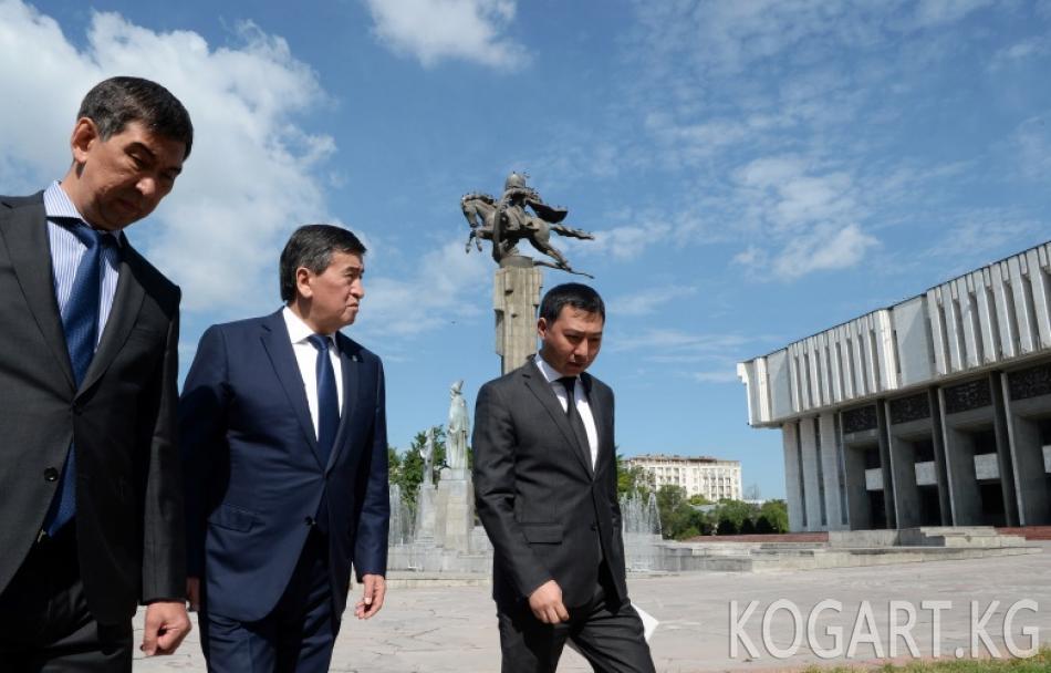 Президент Сооронбай Жээнбеков Т.Сатылганов атындагы Кыргыз улуттук...