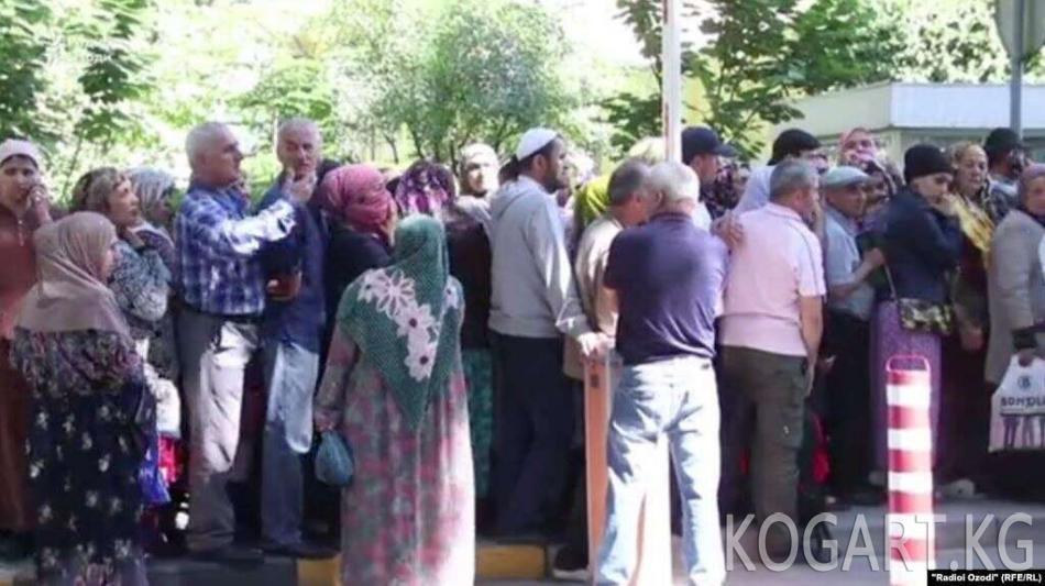 Душанбеде доллар тартыштыгы жаралды