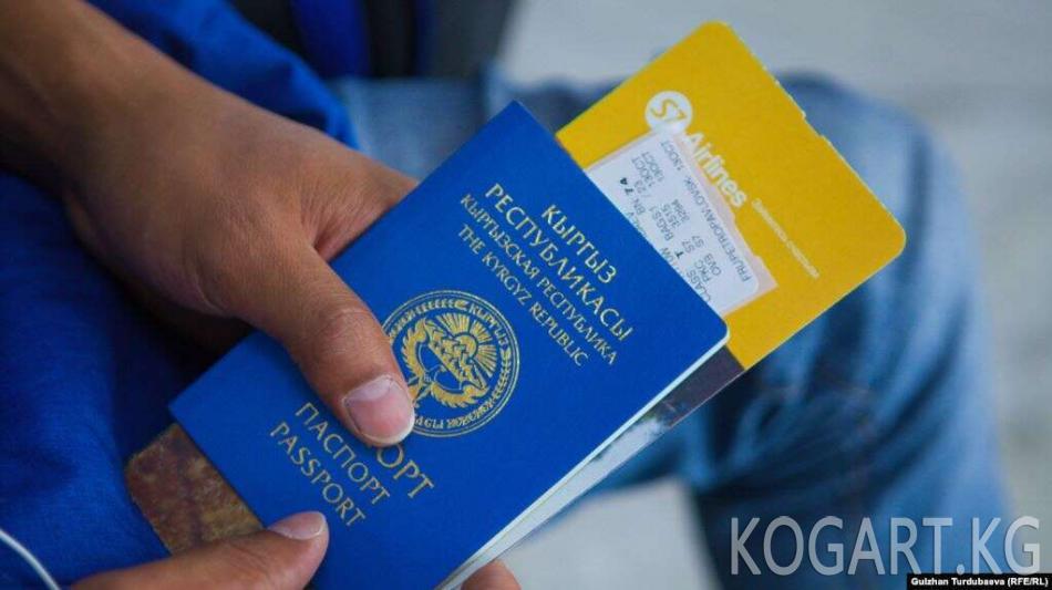 Кыргыз паспортун мыйзамыз жасагандар кармалды