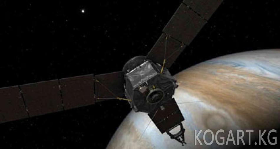 АКШнын космостук кемеси Юпитердин орбитасына жетти
