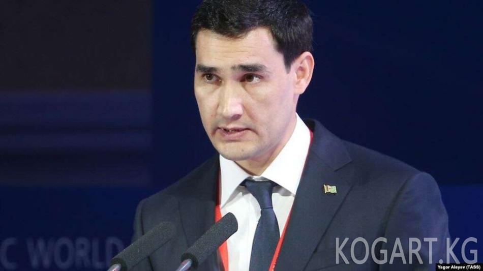 Түркмөнстан президенти уулун губернатор кылып дайындады