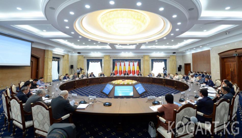 Президент Сооронбай Жээнбеков: Өнөр жай тармагындагы азыркы...