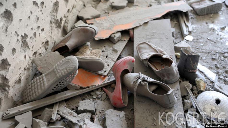 Ливияда качкындар лагериндеги авиасоккудан 40 киши өлдү