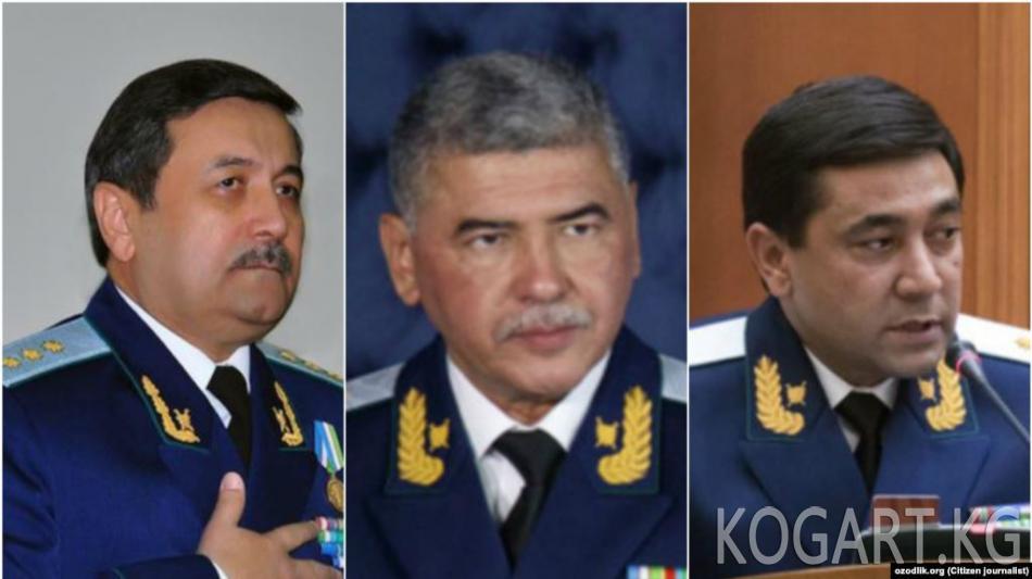 Өзбекстан: Башкы прокуратуранын жогорку кызматтагы ондогон...