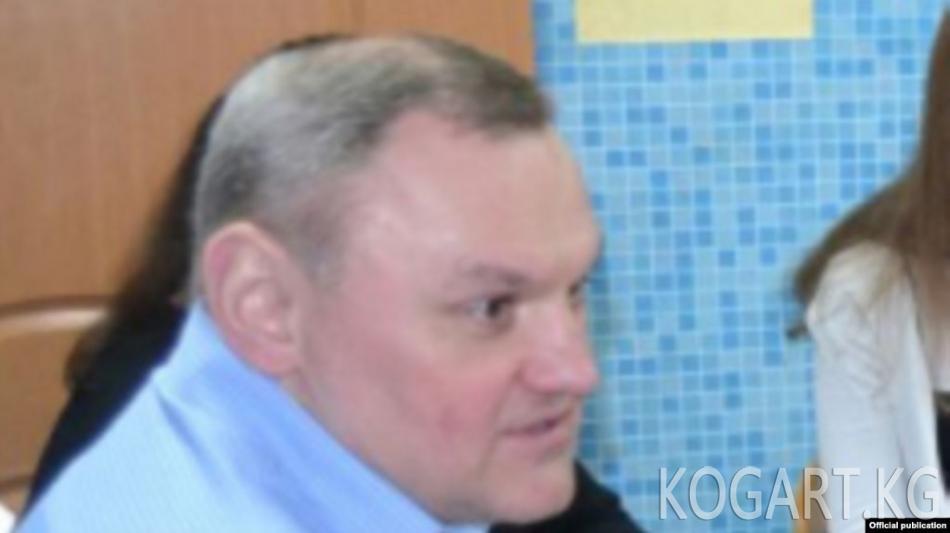 Москвада полиция бөлүмүнүн башчысы Голуновдун ишине байланыштуу кызматынан четтетилди