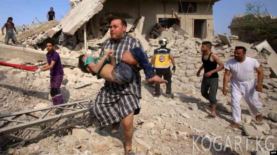 Идлибде орус-сирия операциясынан 500 киши өлдү