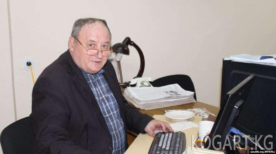 Ташкентте «Мамлекеттик сырды жарыялоо» шеги менен «Ватанпарвар» гезитинин журналисти камалды