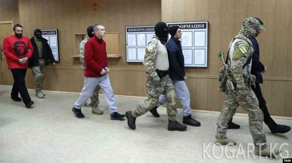 ЖМК: Москва украин деңиз аскерлерин бошотот