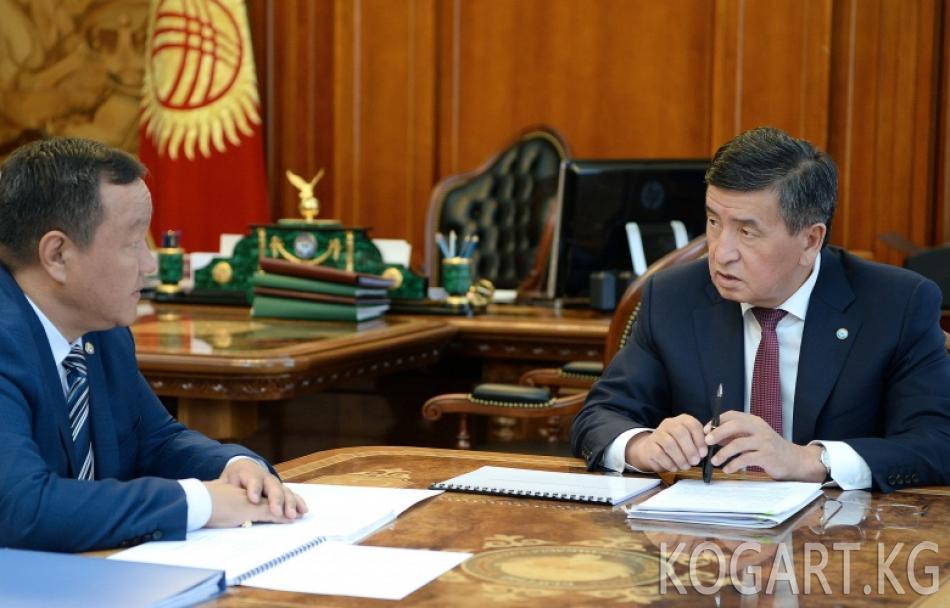 Президент Сооронбай Жээнбеков: Энерготармак токтоосуз реформаларга...
