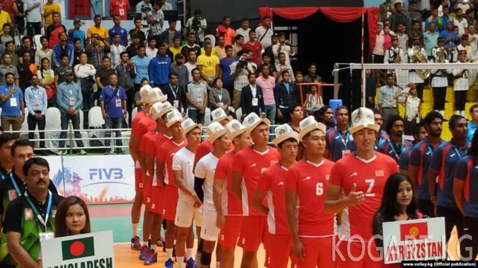 Кыргызстандын курама командасы Волейбол боюнча Азиянын аймактык...