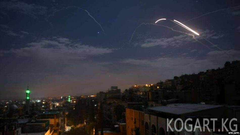 Израиль Ирандын Сириядагы объектилерине сокку урду
