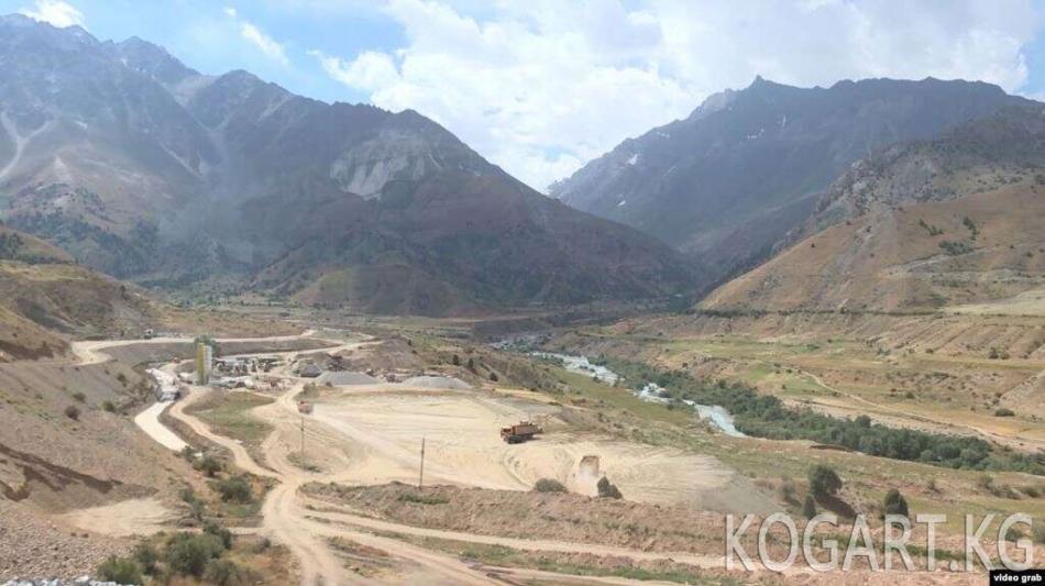 Кытай Тажикстандагы алтын кендерин иштетет