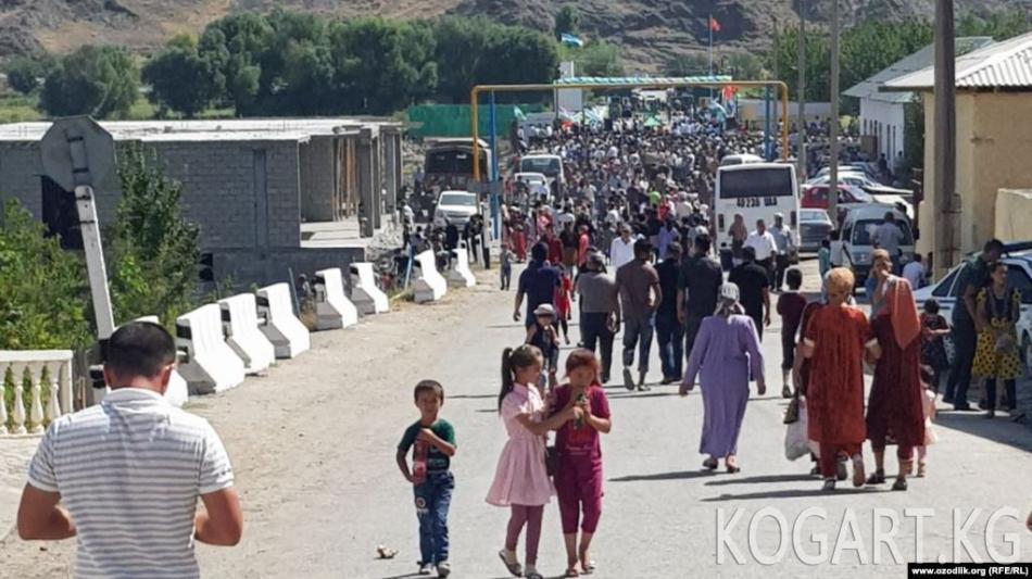 Сох анклавын Өзбекстан менен байланыштырган Сох-Риштан жолу ачылды