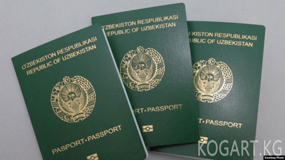 Өзбекстан 1150 адамды жарандыктан ажыратышы мүмкүн