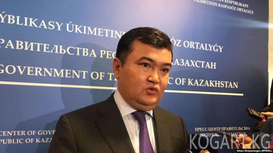 Казакстан: Кытай менен биргелешкен 15 долбоор иштеп жатат