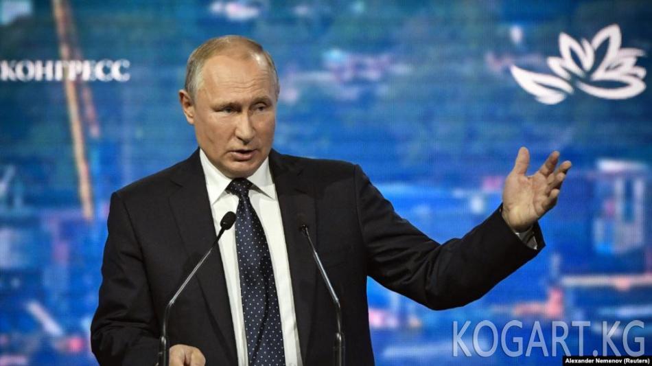 Путин Украина менен туткундарды алмашуу боюнча комментарий берди