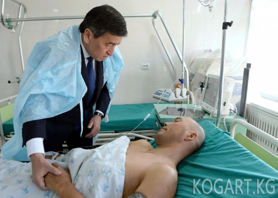 Президент Сооронбай Жээнбеков кыргыз-тажик чек арасындагы чырдын...