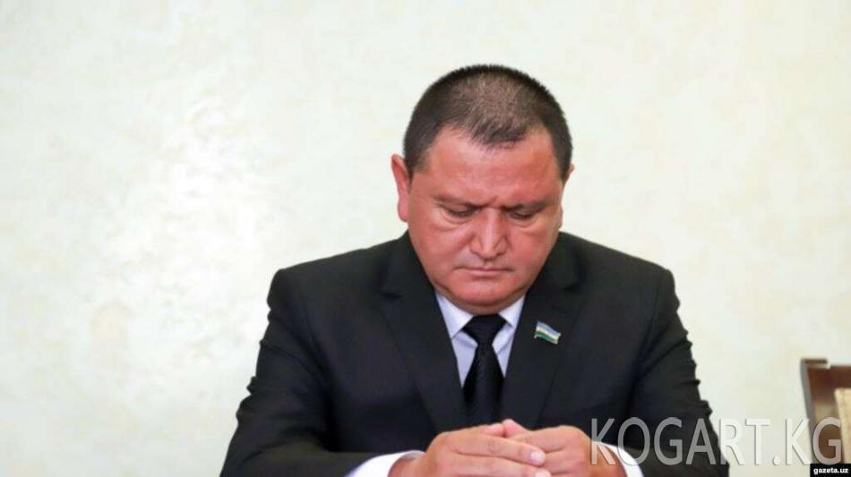 Өзбекстан Сенаты Фергана облусунун башчысына эскертүү берди