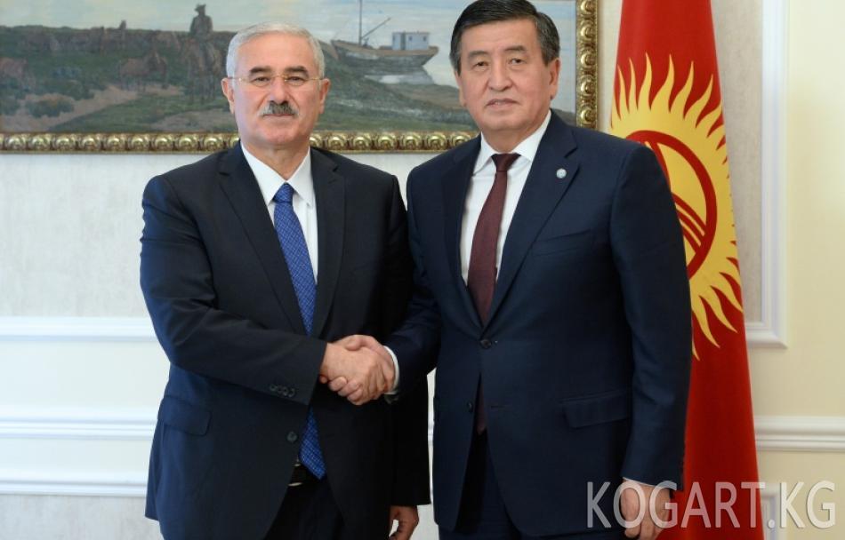 Президент Сооронбай Жээнбеков Түркиянын Жогорку кассациялык сотунун...
